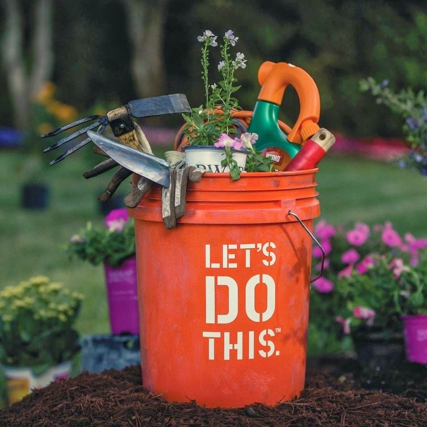 "home depot's ""let's do this"" bucket"