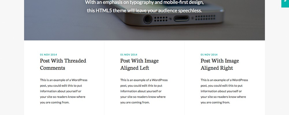 Genesis Theme of the Month: Whitespace Pro